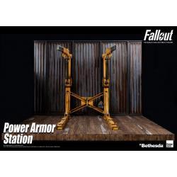 Fallout Pack Accesorios para Figuras Power Armor Station 70 cm - Imagen 1
