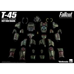 Fallout Pack Accesorios para Figura 1/6 T-45 Hot Rod Shark Armor Pack - Imagen 1