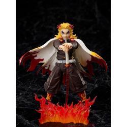 Demon Slayer: Kimetsu no Yaiba The Movie: Mugen Train Figura 1/12 Kyojuro Rengoku 15 cm - Imagen 1