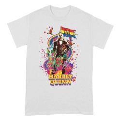 The Suicide Squad Camiseta Flower Flag talla S - Imagen 1