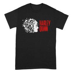 The Suicide Squad Camiseta Harley Quinn Stencil Logo talla S - Imagen 1