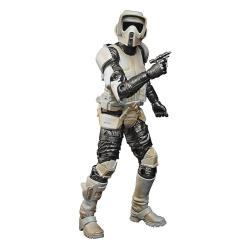 Star Wars The Mandalorian Black Series Carbonized Figura 2021 Scout Trooper 15 cm - Imagen 1