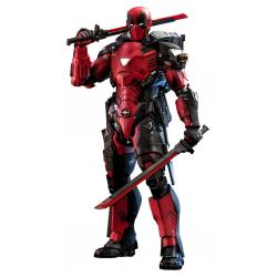 Marvel Comic Masterpiece Figura 1/6 Armorized Deadpool 33 cm - Imagen 1