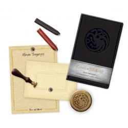 Juego de Tronos Set de papelería Deluxe House Targaryen - Imagen 1