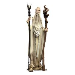 El Señor de los Anillos Figura Mini Epics Saruman el Blanco SDCC 2021 18 cm - Imagen 1