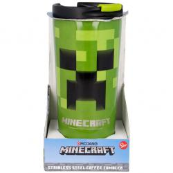 Vaso termo acero inoxidable Minecraft 425ml - Imagen 1