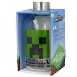 Botella cristal Minecraft 620ml - Imagen 1