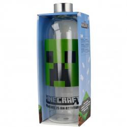 Botella cristal minecraft 1030ml - Imagen 1