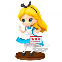 Figura Alice Alicia en el Pais de las Maravillas Disney Q Posket 7cm - Imagen 1