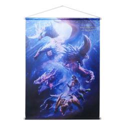 Monster Hunter World: Iceborne Póster Tela Monster Group 64 x 88 cm - Imagen 1