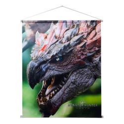 Monster Hunter: World Póster Tela Rathalos 69 x 84 cm - Imagen 1