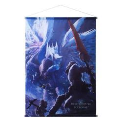 Monster Hunter World: Iceborne Póster Tela Velkhana 60 x 84 cm - Imagen 1