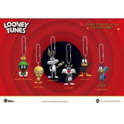 Looney Tunes Llaveros Mini Egg Attack 4 cm Surtido (6) - Imagen 1