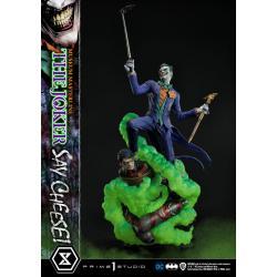 DC Comics Estatua 1/3 The Joker Say Cheese 99 cm - Imagen 1
