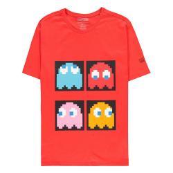 Pac-Man Camiseta Red Background talla XL - Imagen 1