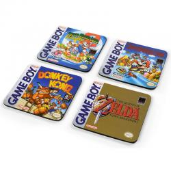 Set 4 posavasos Gameboy Nintendo - Imagen 1