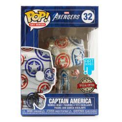 Figura POP Patriotic Age Captain America Exclusive - Imagen 1
