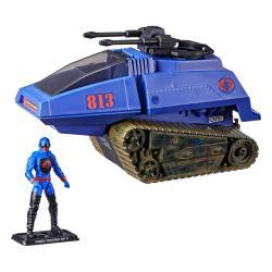 G.I. Joe Retro Collection Series Vehículo con Figura Cobra H.I.S.S. III & Rip It - Imagen 1