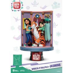 Ralph Rompe Internet Diorama PVC D-Stage Jasmine & Vanellope 15 cm - Imagen 1