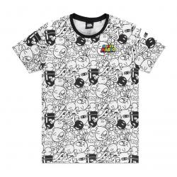 Nintendo Camiseta Super Mario Villains AOP talla L - Imagen 1