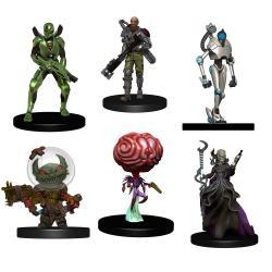 Starfinder Battles Pack de 6 Miniaturas Starter Pack: Monster Pack - Imagen 1