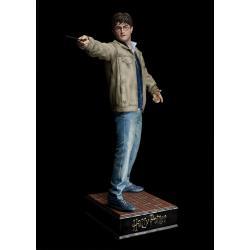 Harry Potter y las reliquias de la Muerte Estatua tama?o real Harry Potter 182 cm - Imagen 1