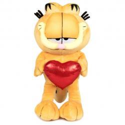 Peluche Garfield soft corazon 60cm - Imagen 1