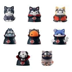Naruto Shippuden Mega Cat Project Figuras 3 cm Nyaruto! Surtido (8) - Imagen 1