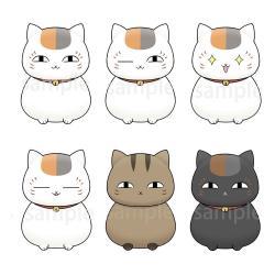 Natsume's Book of Friends Chokorin Mascot Series Figuras 5 cm Surtido (6) - Imagen 1