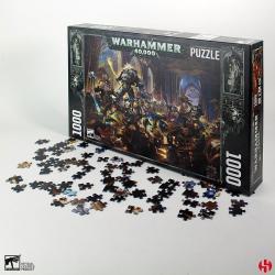 Warhammer 40K Puzzle Gulliman vs Black Legion (1000 piezas) - Imagen 1