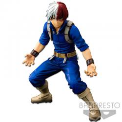 Figura The Shoto Todoroki The Brush Banpresto World figure Colosseum Super Master Stars Piece My Hero Academia 21cm - Imagen 1