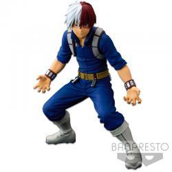 Figura The Shoto Todoroki The Anime Banpresto World figure Colosseum Super Master Stars Piece My Hero Academia 21cm - Imagen 1