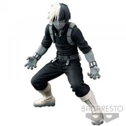 Figura The Shoto Todoroki The Thones Banpresto World figure Colosseum Super Master Stars Piece My Hero Academia 21cm - Imagen 1