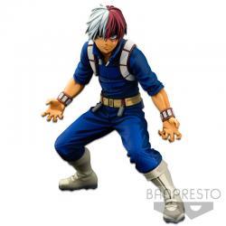 Figura The Shoto Todoroki Two Dimensions Banpresto World figure Colosseum Super Master Stars Piece My Hero Academia 21cm - Image