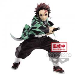 Figura Tanjiro Kamado 1 Demon Slayer Kimetsu no Yaiba Maximatic 18cm - Imagen 1
