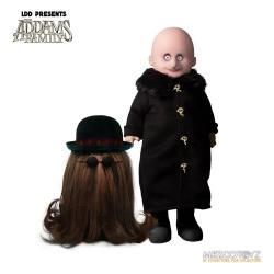 The Addams Family Living Dead Dolls Set de 2 Muñecos Fester & It 13 - 25 cm - Imagen 1