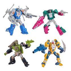 Transformers Generations Deluxe Retro Headmasters Figuras 2021 Wave 2 Surtido (4) - Imagen 1
