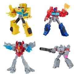 Transformers Buzzworthy Bumblebee Pack de 4 Figuras Warriors 14 cm - Imagen 1
