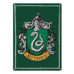 Harry Potter Placa de Chapa Slytherin 21 x 15 cm - Imagen 1