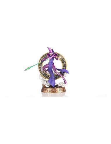 Yu-Gi-Oh! Estatua PVC Dark Magician Purple Version 29 cm - Imagen 1