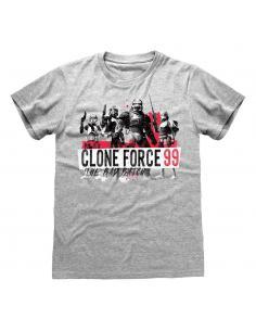 Star Wars Bad Batch Camiseta Clone Force 99 talla S - Imagen 1