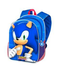 Mochila 3D Velocity Sonic the Hedgehog 31cm - Imagen 1