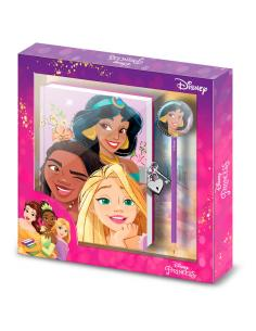 Set diario + boligrafo Fairytale Princesas Disney - Imagen 1