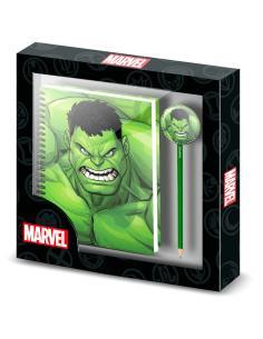 Set cuaderno + lapiz Destroy Hulk Marvel - Imagen 1
