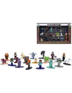 Set 20 figuras Minecraft 4cm - Imagen 1