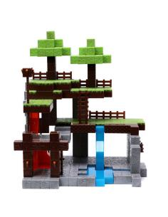 Set 2 figuras + Mundo Minecraft - Imagen 1