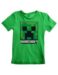 Camiseta Creeper Minecraft adulto - Imagen 1