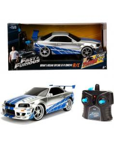 Coche radio control Nissan Skyline GT-R 2002 Fast and Furious - Imagen 1