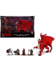 Set figuras deluxe Dragones y Mazmorras 4cm - Imagen 1