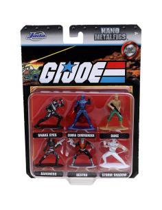 Set 6 figuras GI Joe 4cm - Imagen 1